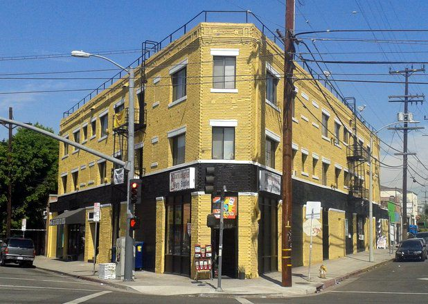 Eastside Property: Boyle Heights brick apartment building with charm and skate shop now on sale