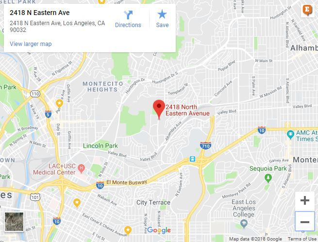 El Sereno fire on Eastern Avenue extinguished