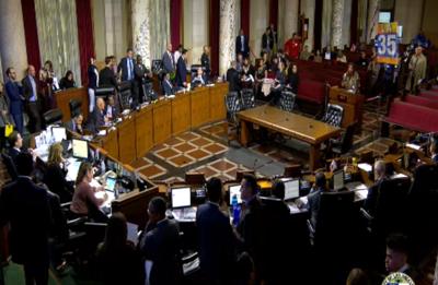 LA City Council Meeting Room Placeholder