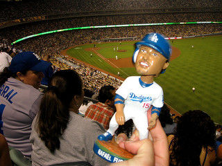 Bobblehead collectors cause headaches for Dodgers