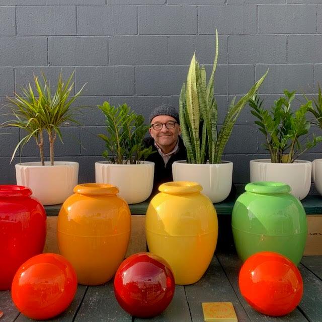 Bauer Pottery owner Janek Boniecki.