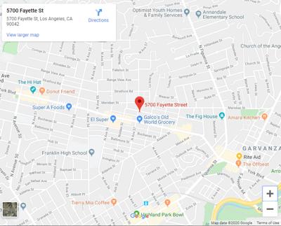map of 5700 fayette street