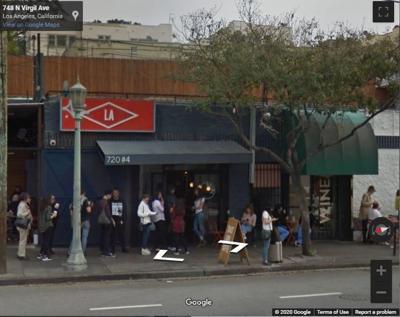 Sqirl Google street view