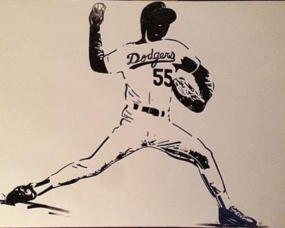 Echo Park restaurant owners seek thieves with a taste for Dodger art