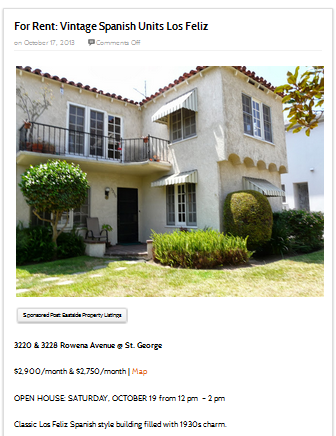 REal Estate Property Listing Example