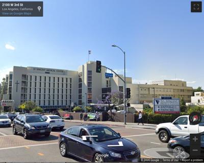 Street view St Vincent Medical Center