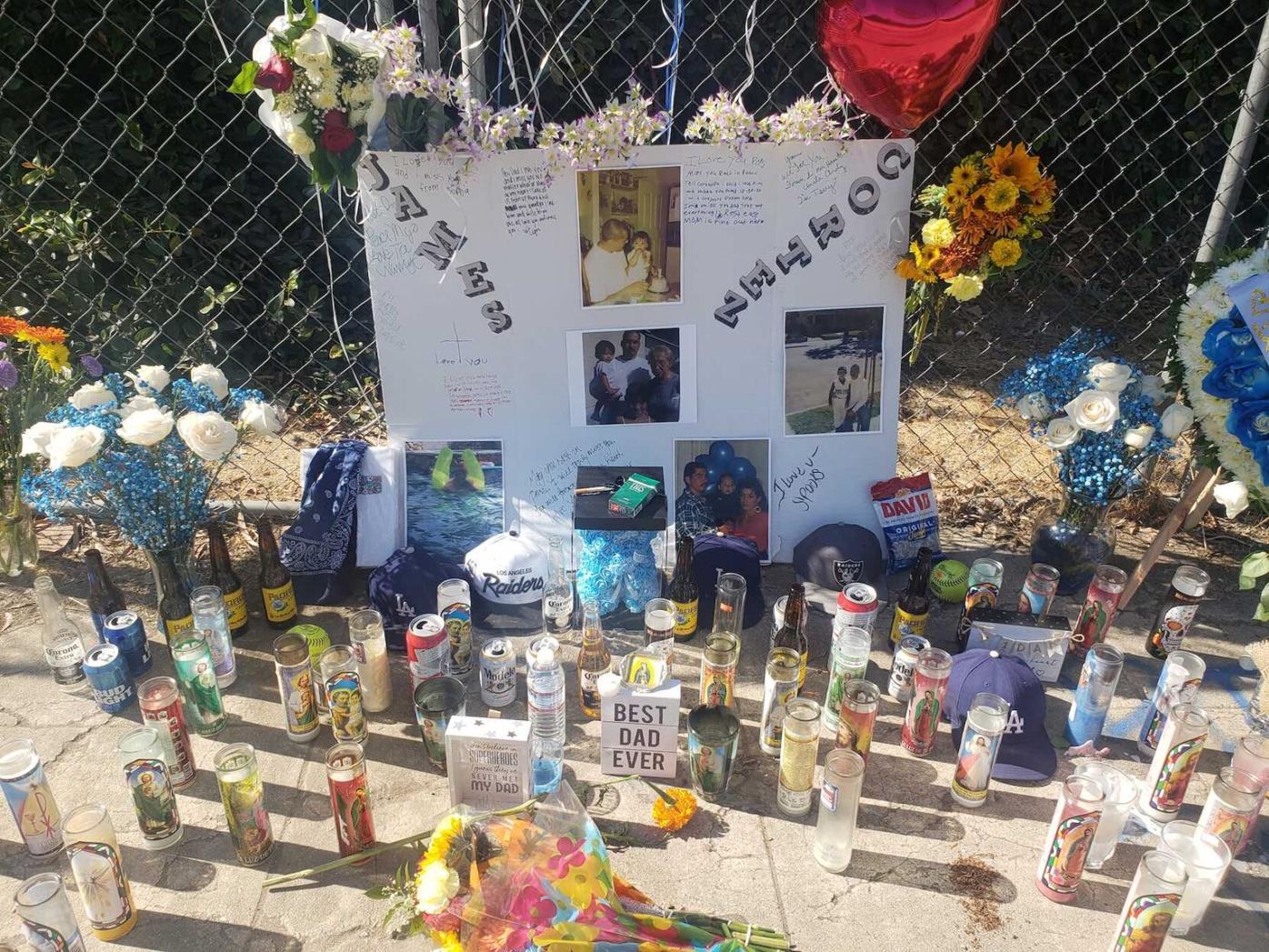 James Cortez memorial
