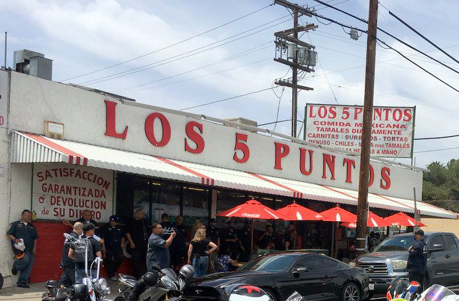 Carnitas, tortillas and loyal customers have kept Los 5 Puntos in business for more than 50 years