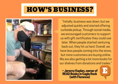 Jeremy Kaplan from READ Books in Eagle Rock