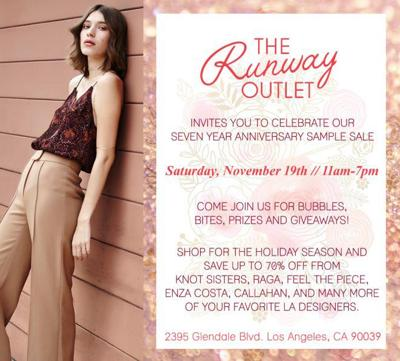 Save Up to 70% Off at Seven Year Anniversary Sample Sale in Silver Lake