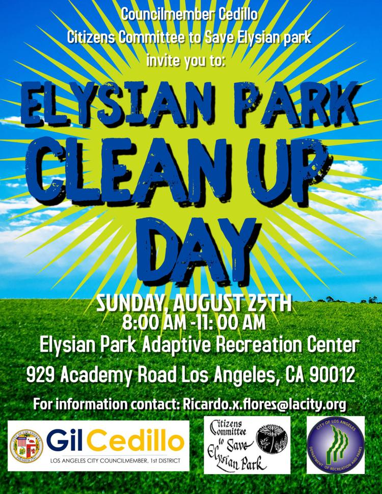 Cleanup Day Flyer