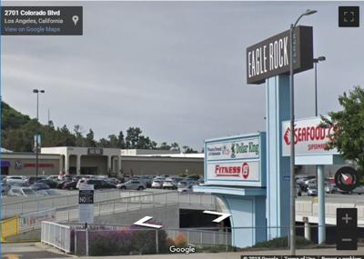 Google Street View of Eagle ROck Plaza