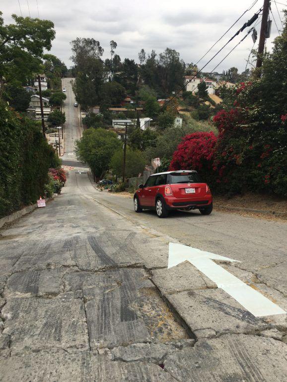 Waze drivers steer clear of one-way Baxter Street in Echo Park