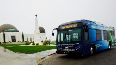 Electric DASH bus Observatory Line