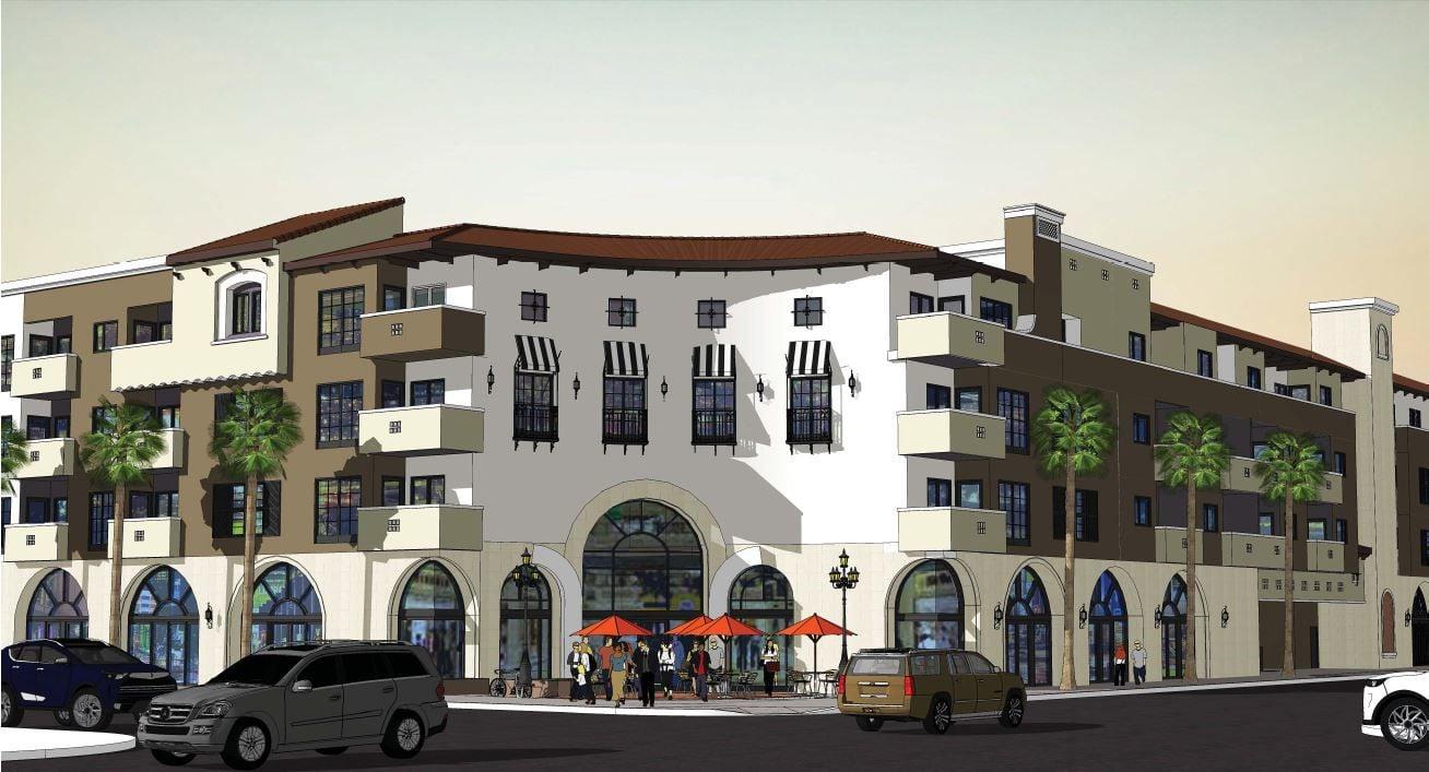 El Nuevo Amanecer Apartments rendering