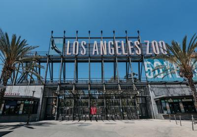 L.A. Zoo entrance