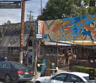 Google Street view of Hache Burger in Silver Lake