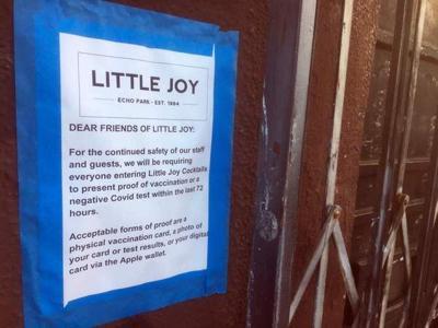 Little Joy vaccination notice 600
