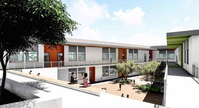 New Ivanhoe Elementary building