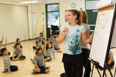 Echo Park school teaches students through dance