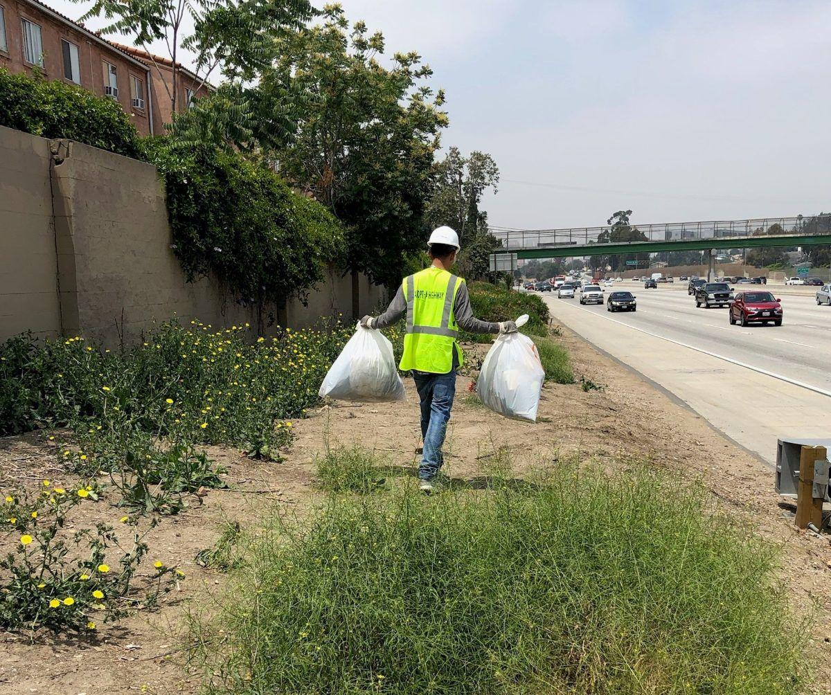 Jimmy Rodriguez - Picking Up Trash on the 10 courtesy caltrans.jpg
