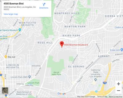 Google map of 4500 Bowman Blvd