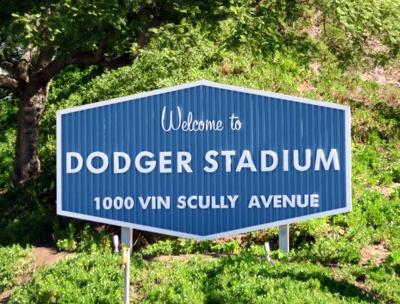 Coming to Dodger Stadium for the season opener? Then watch out for No Parking signs