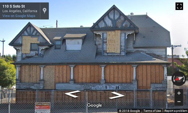 """What does the future hold for Boyle Heights' 123-year-old """"Blue House""""?"""