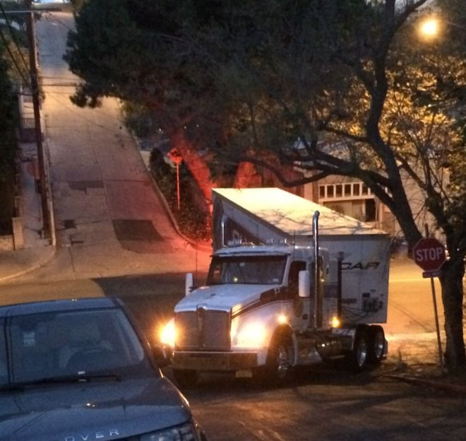 Why truck drivers should steer clear of Cerro Gordo Street