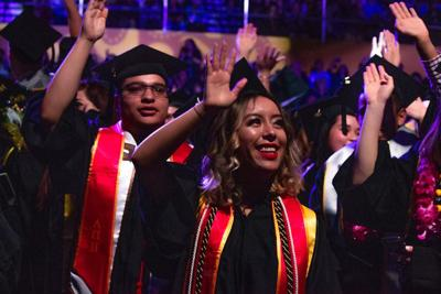 2019 Cal State LA commencement