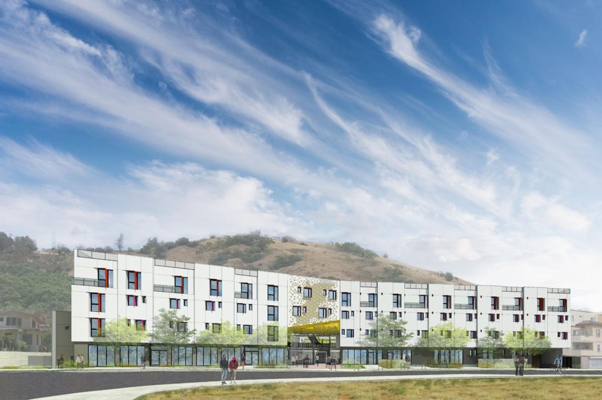 Rendering of Rosa de Castilla Apartments