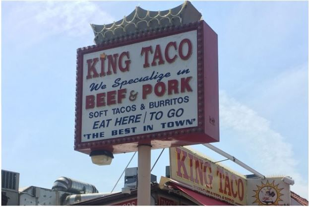 Historic preservation group honors the first-ever King Taco in Cypress Park