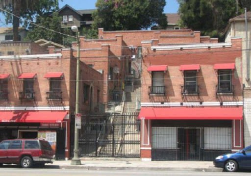 Echo Park hillside apartments might become a landmark today *