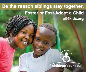 Become a Resource Parent & Foster or Foster-Adopt Siblings