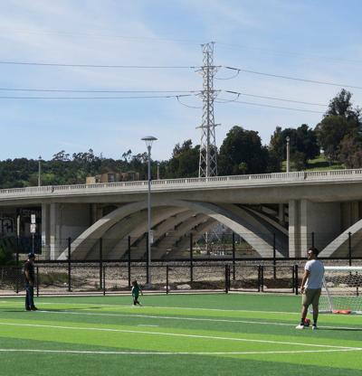 New Lincoln Heights park provides green space and cleans water, too