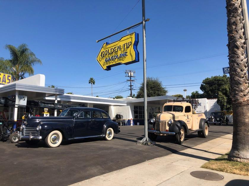 """Atwater Village repair shop plays an unexpected role in """"Hollywood"""""""