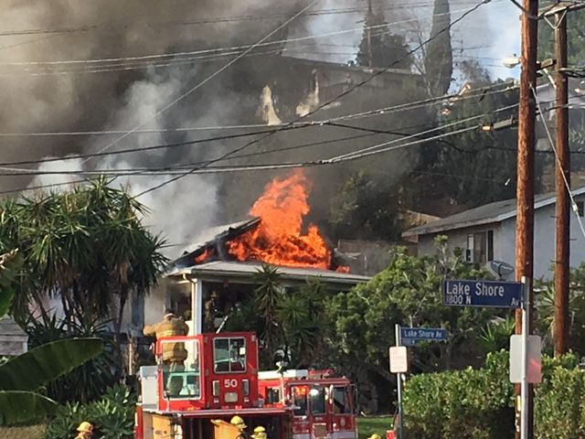 Echo Park fire knocked down
