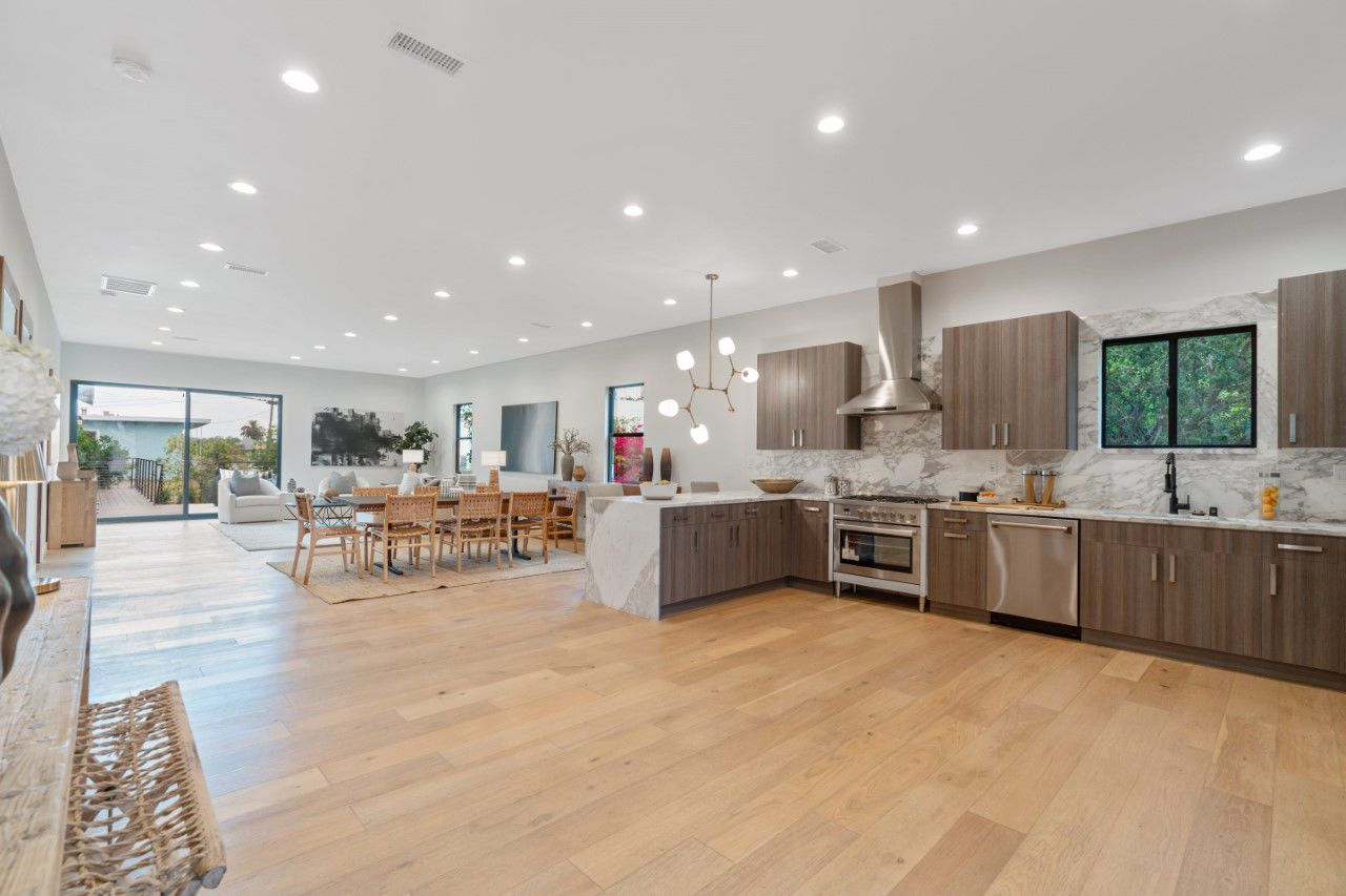 Photo: Modern Comfort in Silver Lake on an Urban Hillsides - New Build for Family, Work, and Play