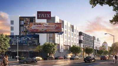 Rendering of new Taix complex