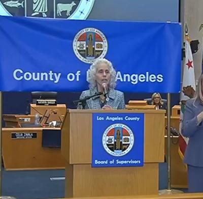 Dr. Barbara Ferrer, head of the L.A. County Department of Public Health