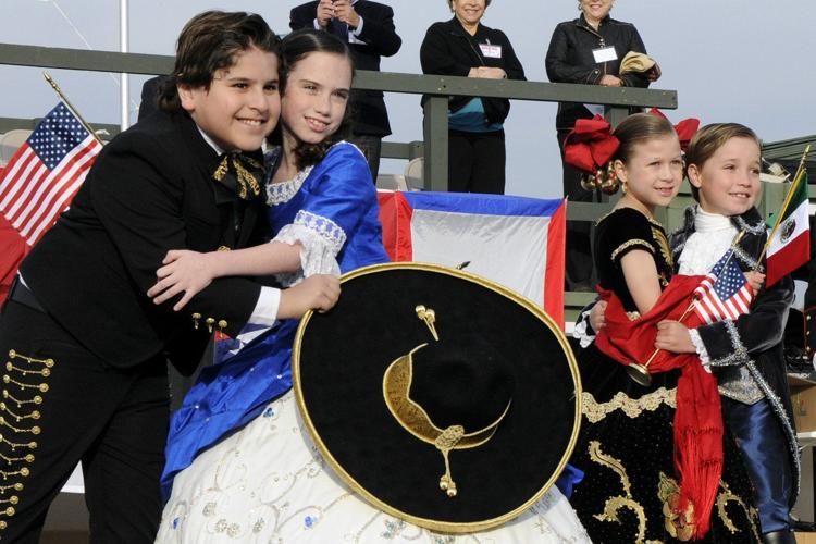 Texas Military Forces participate in George Washington Birthday Celebration