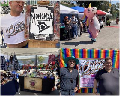 Queer Mercado collage