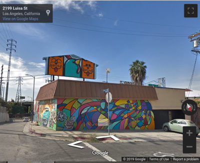 Google Street view of new Lincoln Heights brewery site
