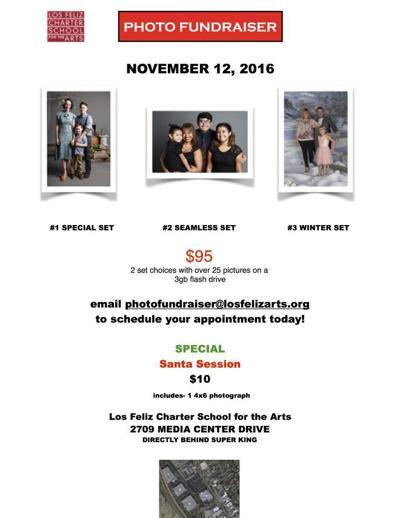 Bulletin Board: Photo Fundraiser  for Los Feliz Charter School for the Arts