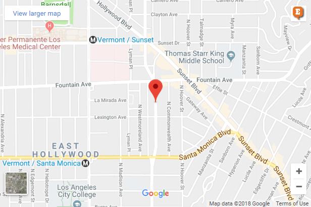 Fire hits East Hollywood duplex on Virgil Avenue
