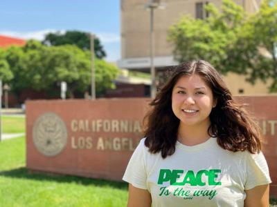 Kamila Campos at cal state LA