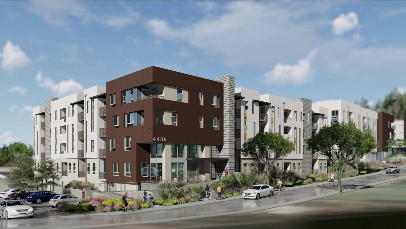 New Rose Hills housing