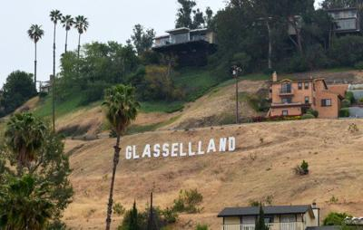 How much would you pay to get the Glassellland sign back?