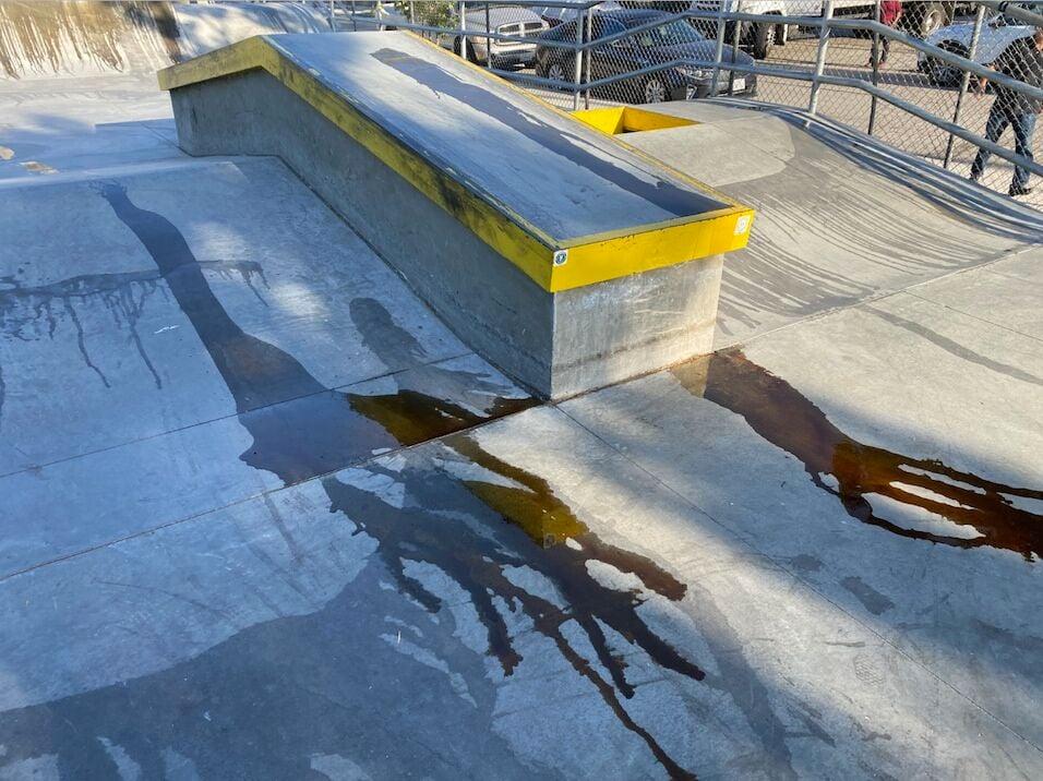 Chevy Chase skatepark ramp