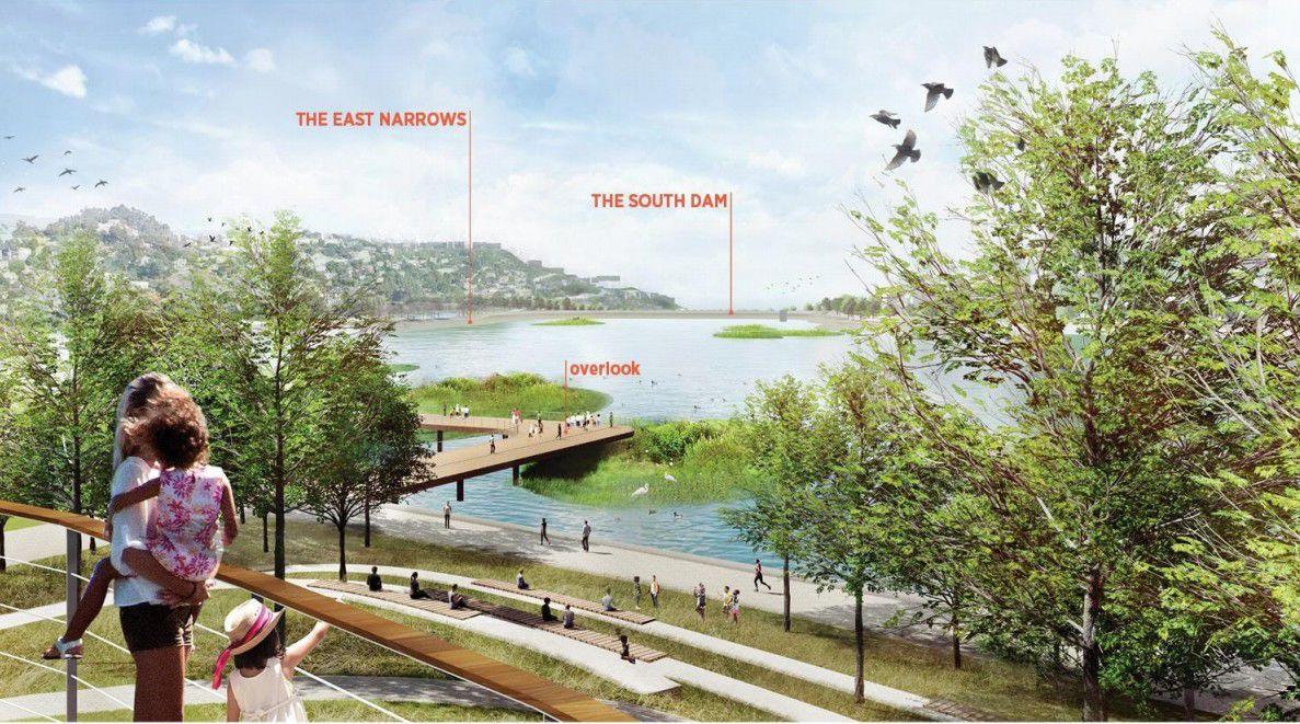 Island Overlooks option silver lake reservoirs master plan